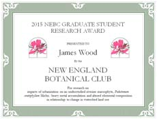 James Wood Graduate Award